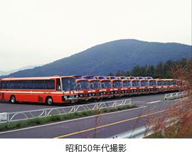 昭和50年代撮影植松自動車バス